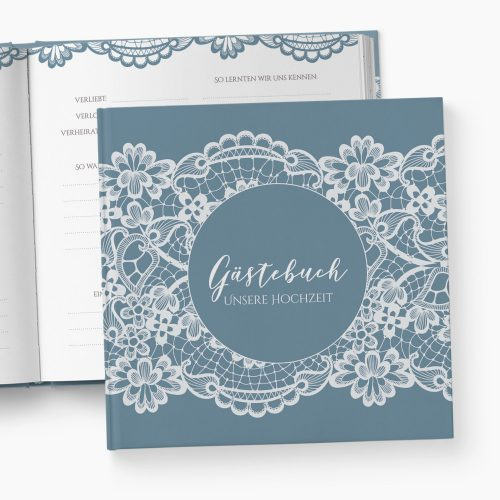 Gästebuch Hochzeit Spitze