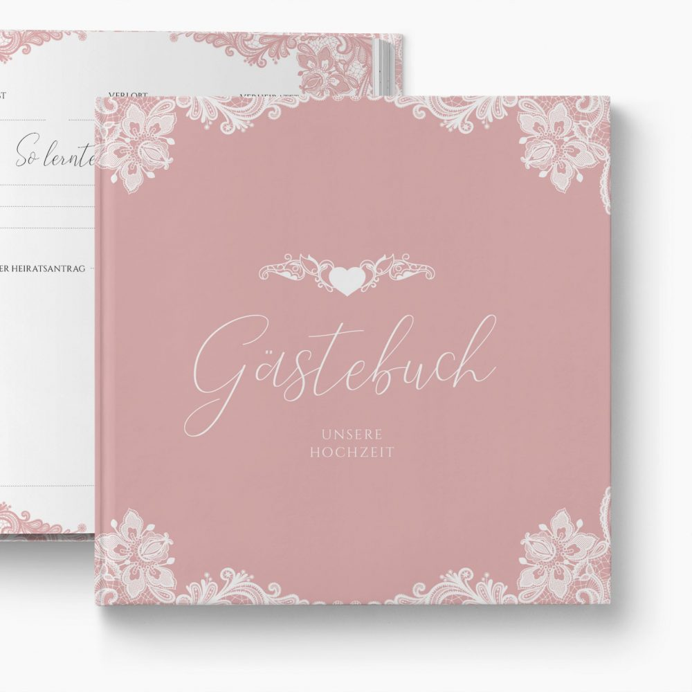 Gästebuch Hochzeit Romantik
