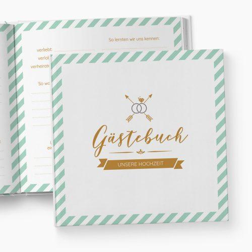 Gästebuch Hochzeit Diamant