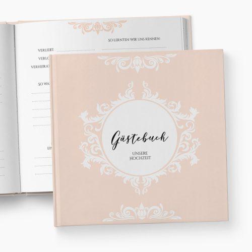 Gästebuch Hochzeit Prunkvoll