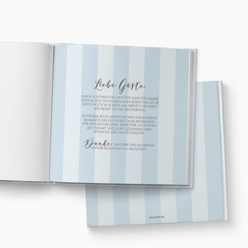 Gästebuch Hochzeit Spitze Einleitung