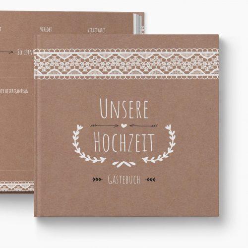 Gästebuch Hochzeit Vintage