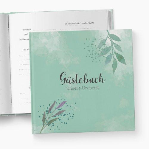 Gästebuch Hochzeit Sommertraum
