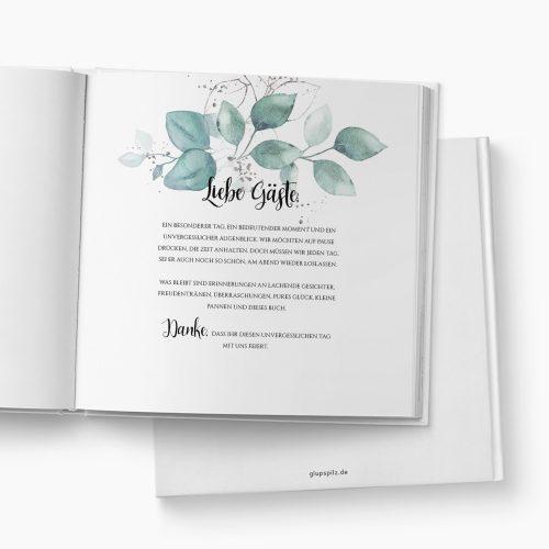 Gästebuch Hochzeit Lovely Leaves