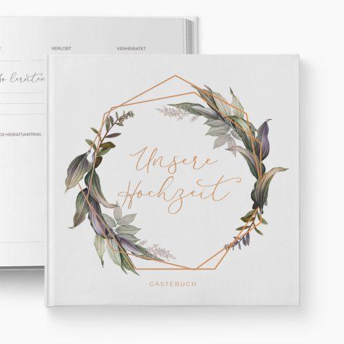 Gästebuch Hochzeit Botanic Love