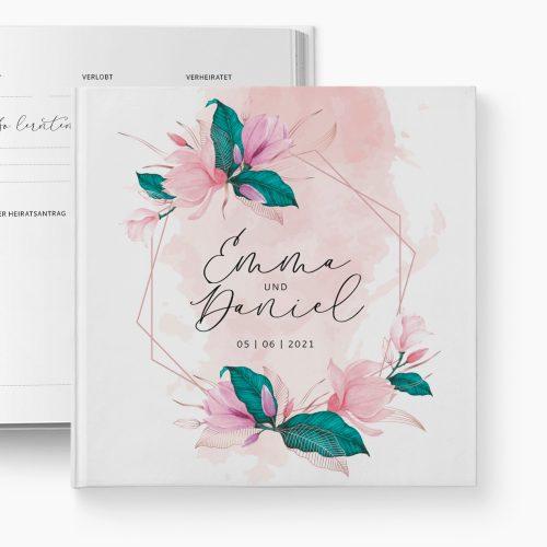Gästebuch Hochzeit Magnolia