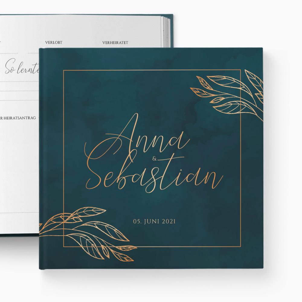 Gästebuch Hochzeit Graceful