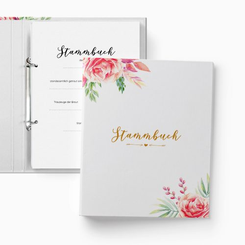 Stammbuch Floral